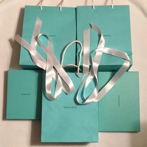 Tiffany & Co. Bags and Boxes Bundle
